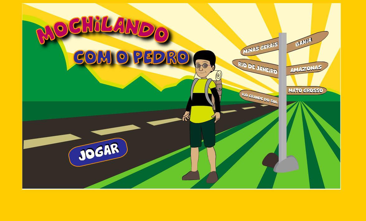 Jogo Educativo – Mochilando com Pedro