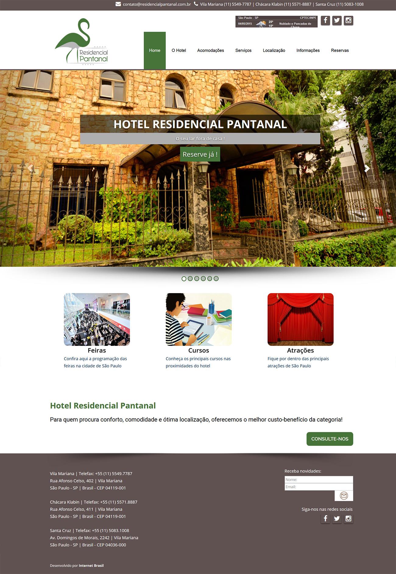 Site – Residencial Pantanal