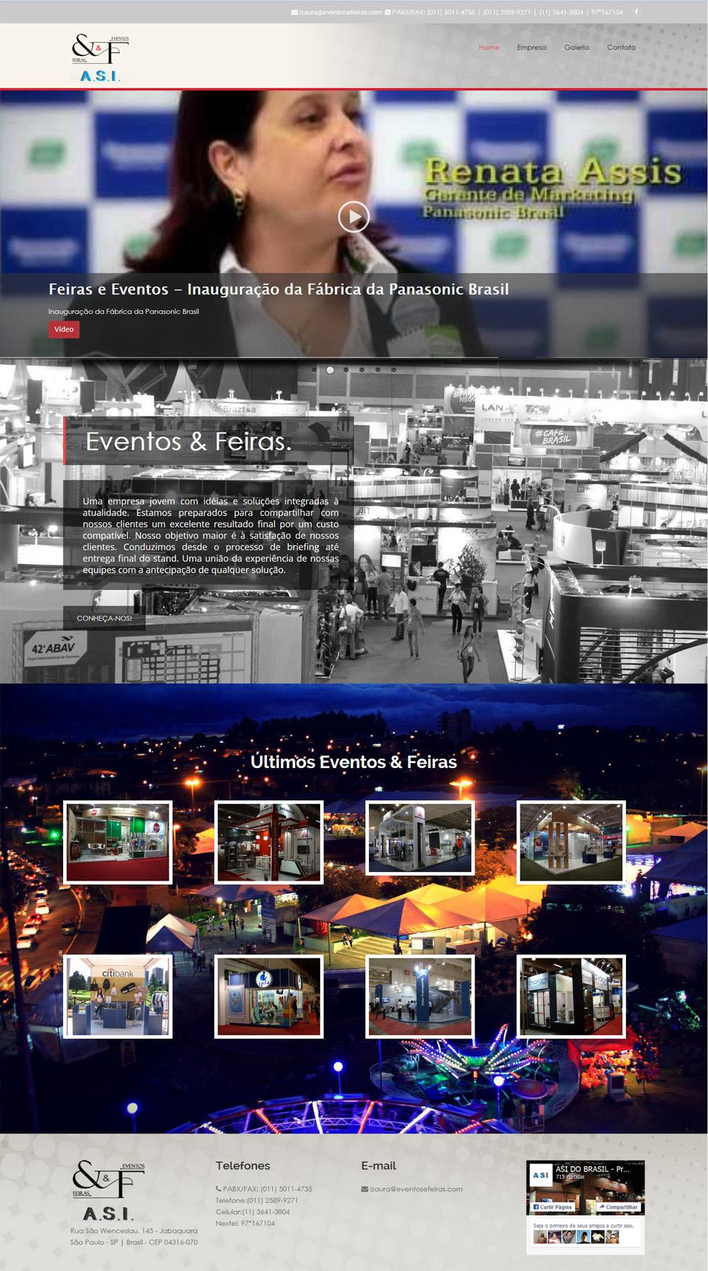 Site – Eventos&Feiras