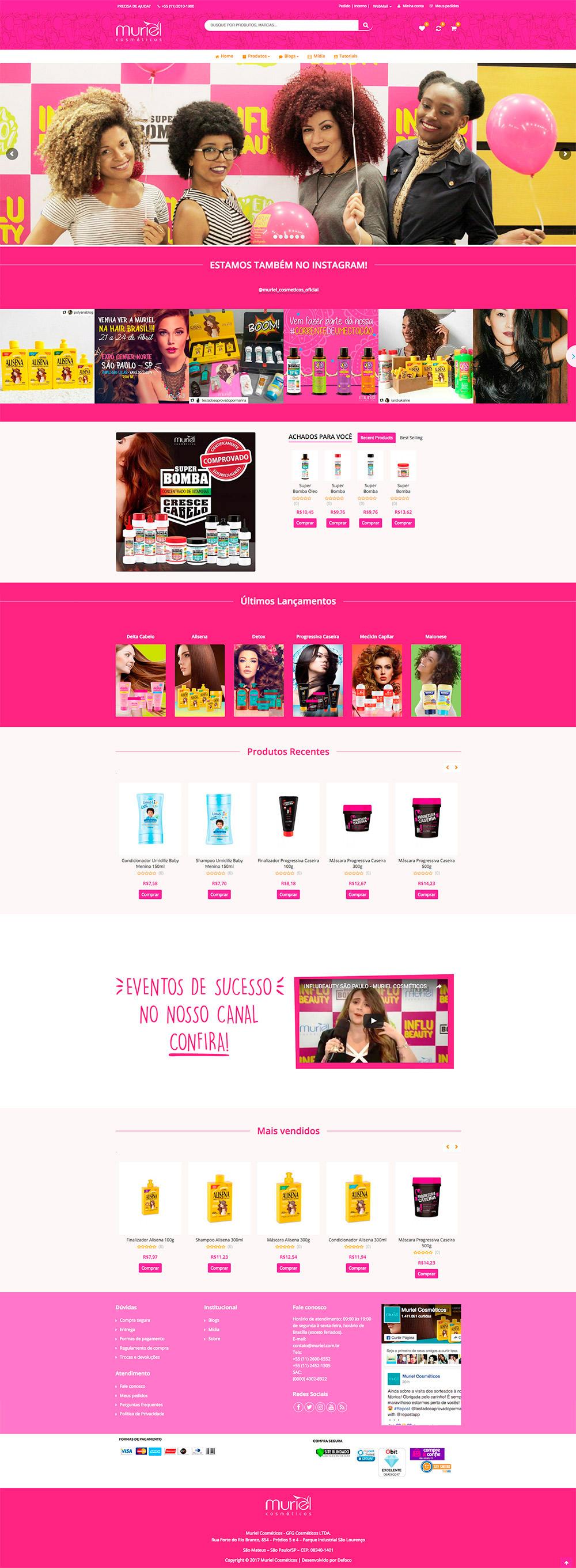 Site E-Commerce Muriel